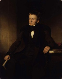 Portrait of Thomas de Quincey by Sir John Watson-Gordon. (National Portrait Gallery, London.)
