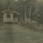 Huts, Pulau Jerejak, 1923.