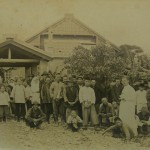 Dr Taylor and Members of Taihoku in 1931