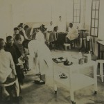 Clinic at Taihoku, taken by Dr W Wade on his visit in 1931
