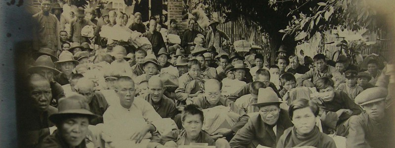 People at Taihoku, 1931